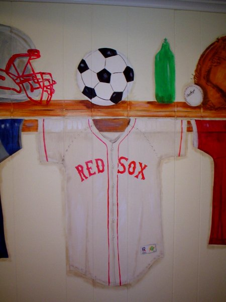Hanging_sports shirt
