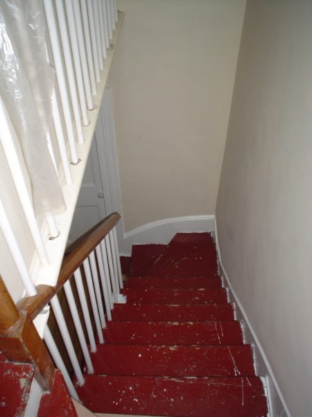 Trecherous stairs