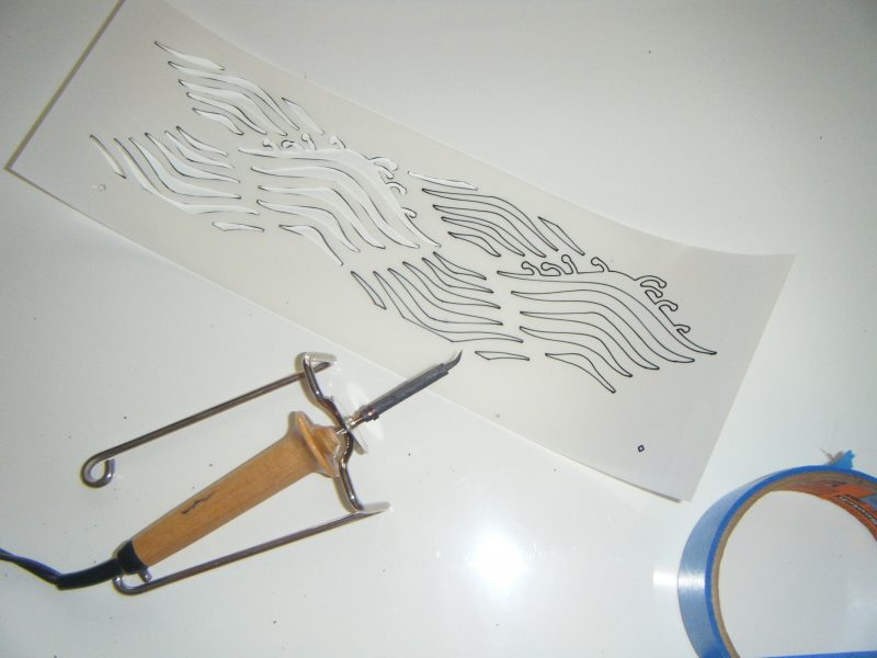 Uncut stencil wave