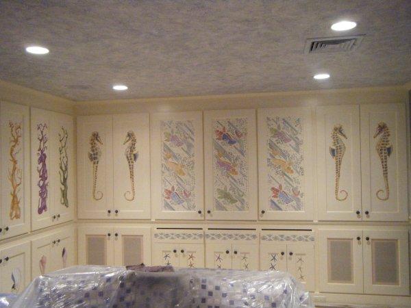 Full cabinets