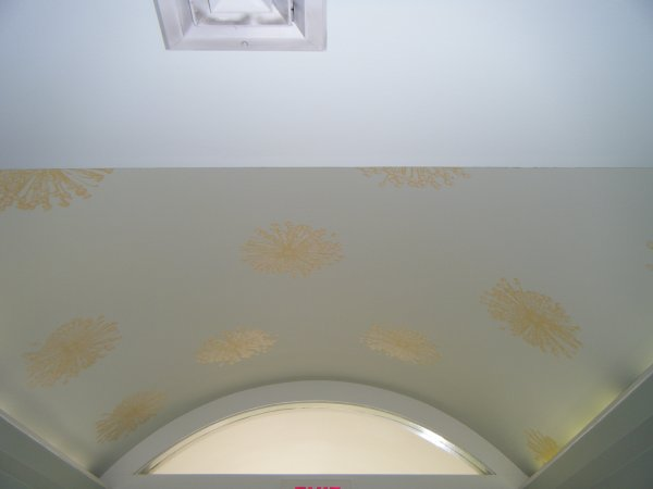 Arched ceiling far