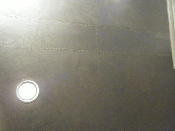 Closeup ceiling