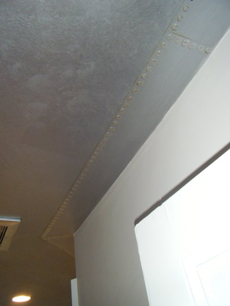 Close up ceiling