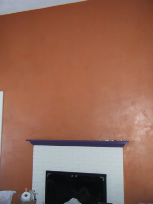 Close up ts wall