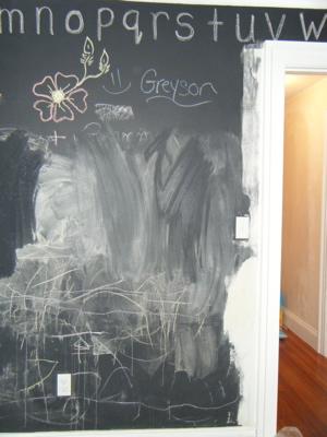 Chalkboard repair