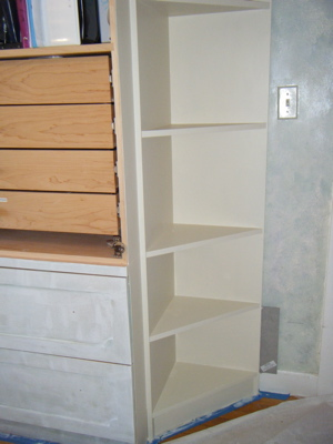 Shelf end
