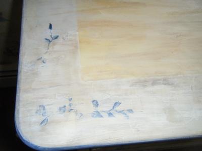 Glazed:worn pattern