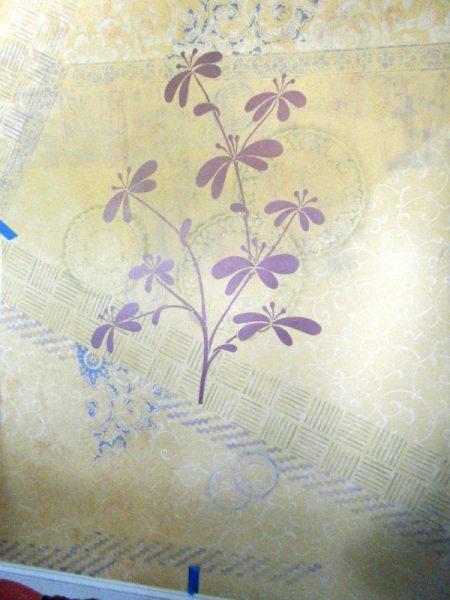 Partial flower
