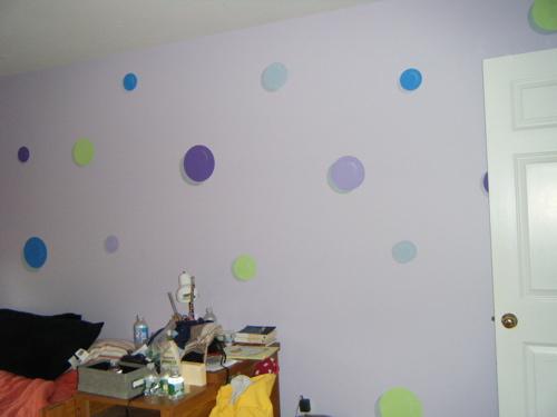 Previous wall