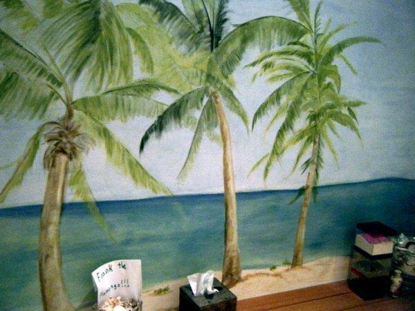 Original mural wall