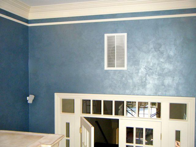Blue rm (over door)