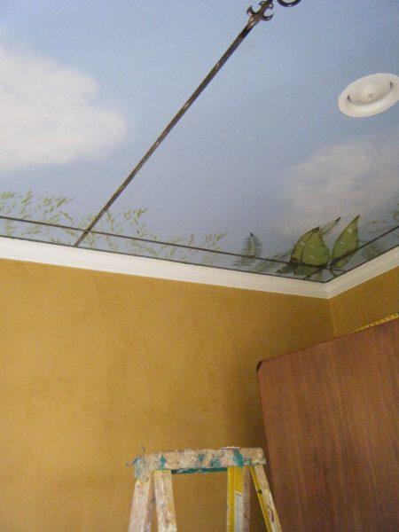 Room in progess:walls