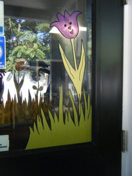 Door outside in