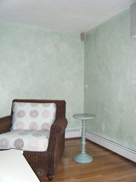 Fossil:glazed walls