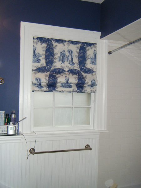 Guest bath window