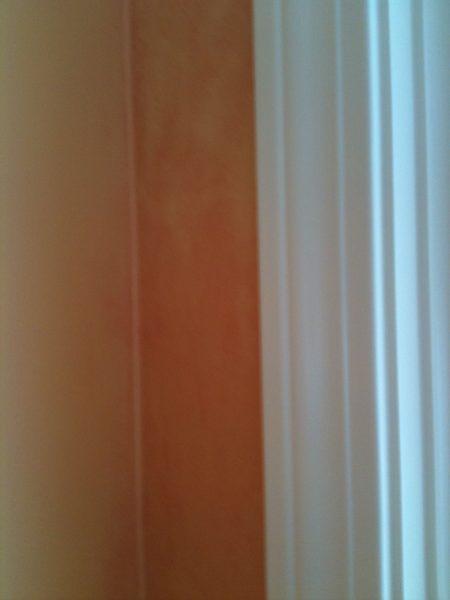 Glazed and unglazed corner walls