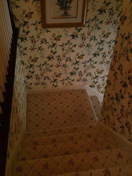 B4 foyer stairs