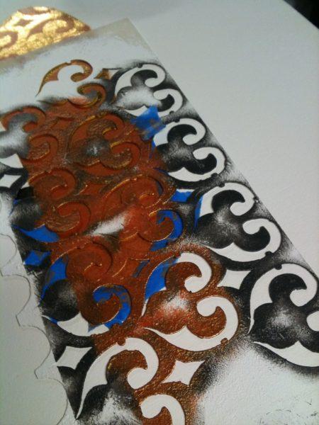 My very dirty stencil