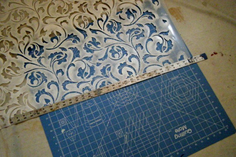 Cutting stencil