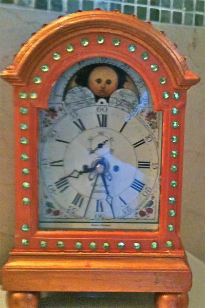 Clock front1