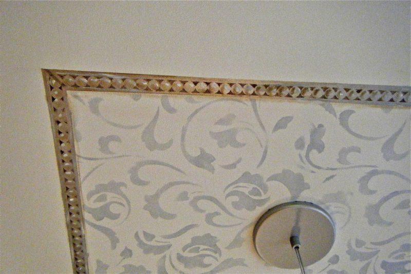 Close up ceiling