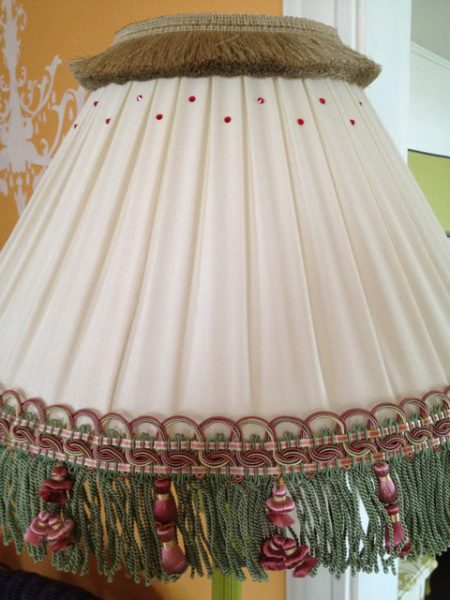 After pleated