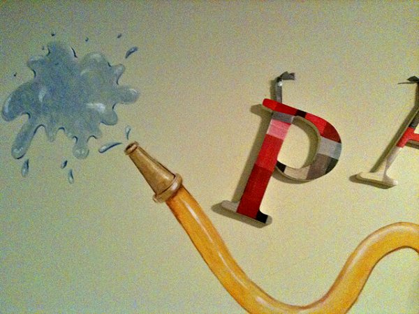 Letters and hose