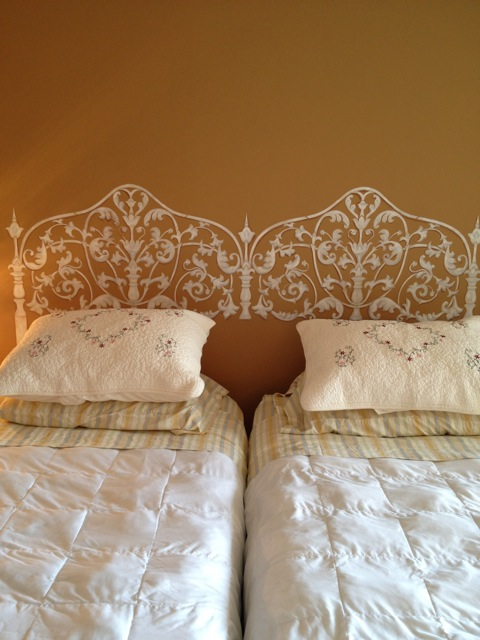 Headboard after complete