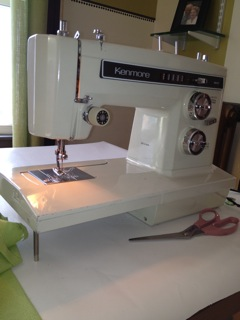My old sewing machine