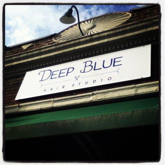 Deep Blue Hair Studio