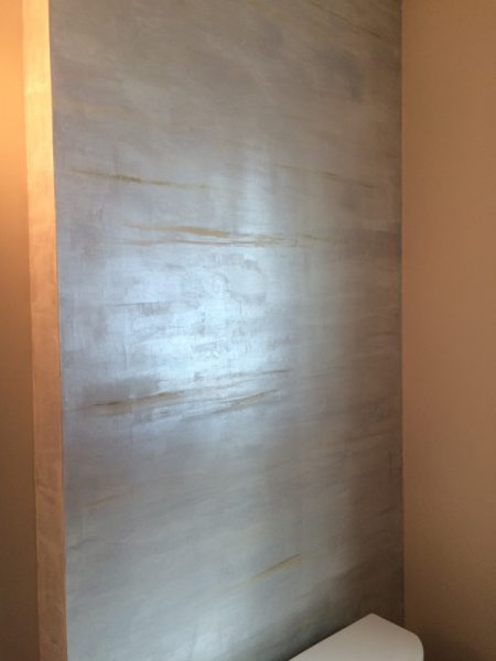 Finished wall